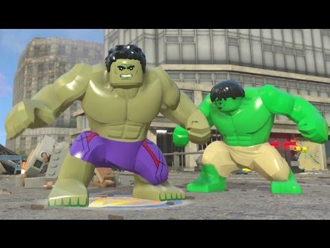 Lego hulk walkthrough
