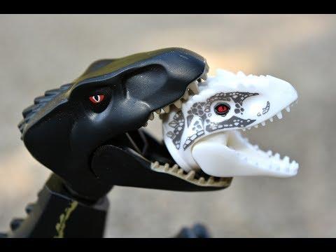 Lego jurassic world indoraptor vs indominus