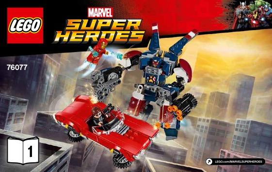 Lego iron man avengers