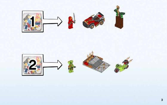Lego junior ninjago 10722