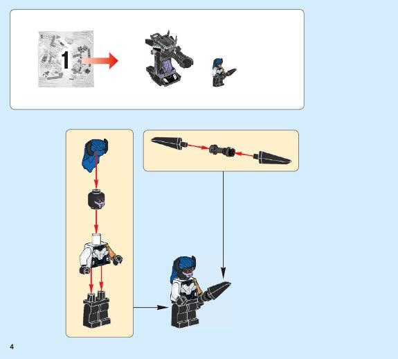 Lego hulkbuster smash up instructions