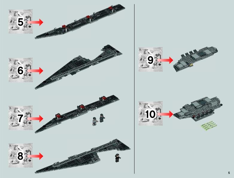 Lego instructions super star destroyer