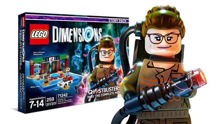 Lego ghostbusters dimensions 2016
