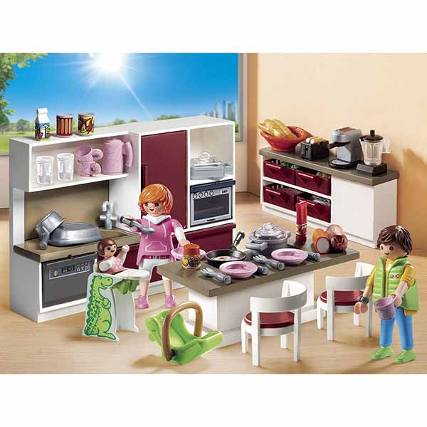 Cuisine Maison Moderne Playmobil Jouet Club Zagafrica Fr