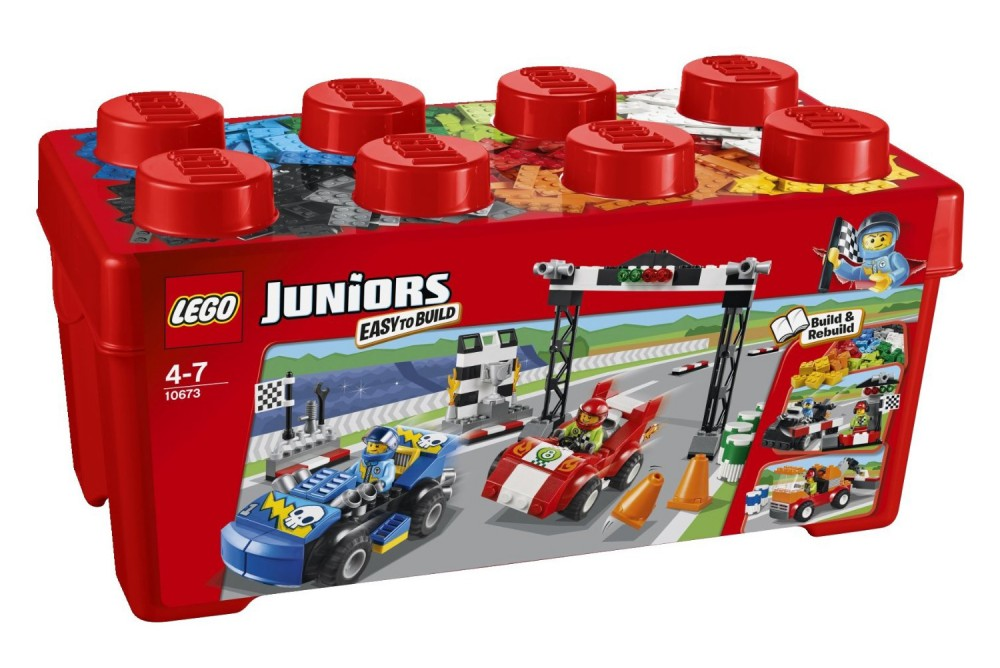 Lego junior voiture de course