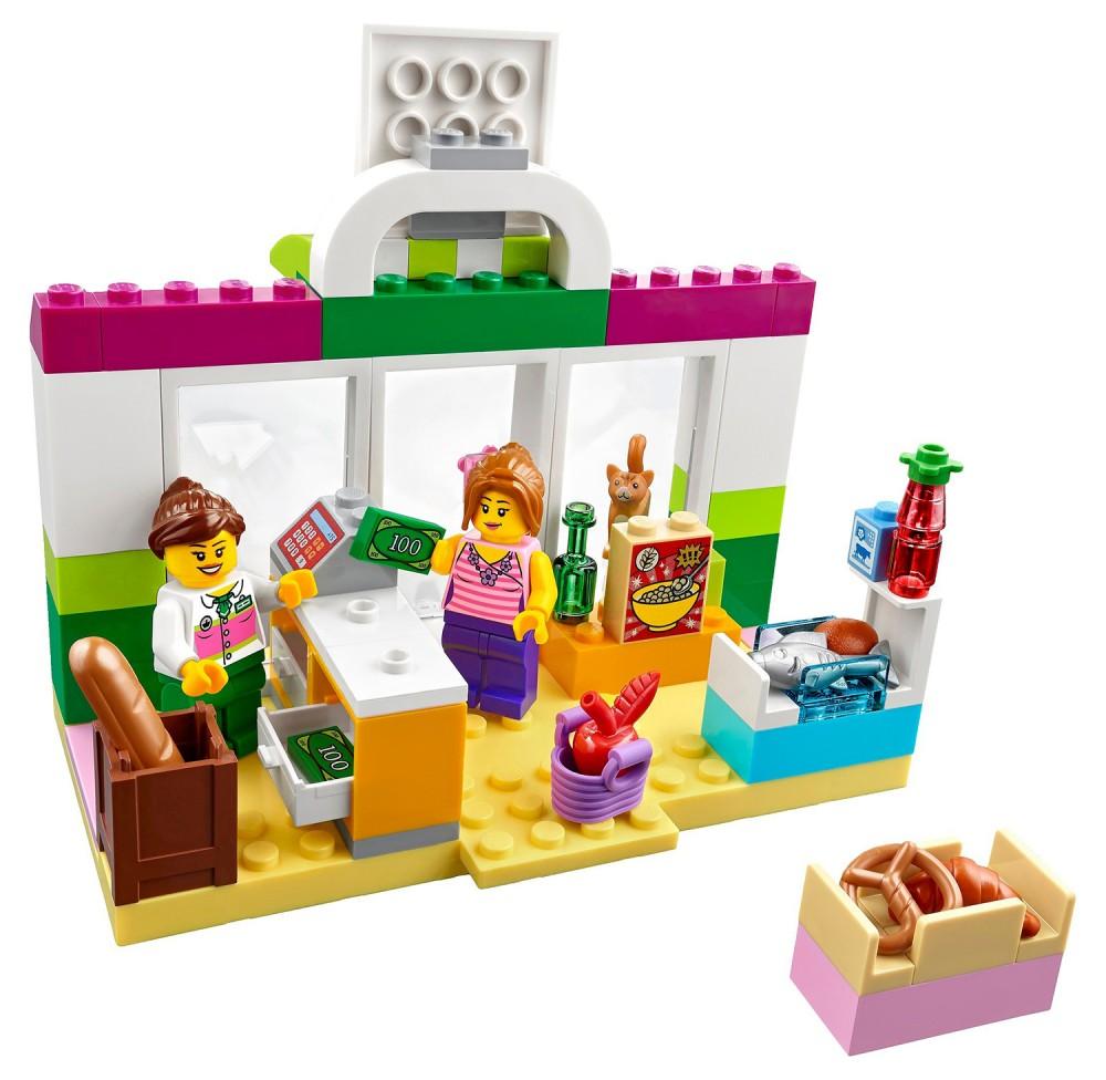 Lego junior valise supermarché