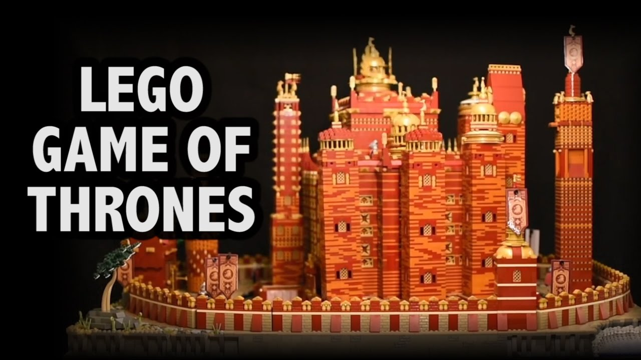 Game of thrones lego set for sale