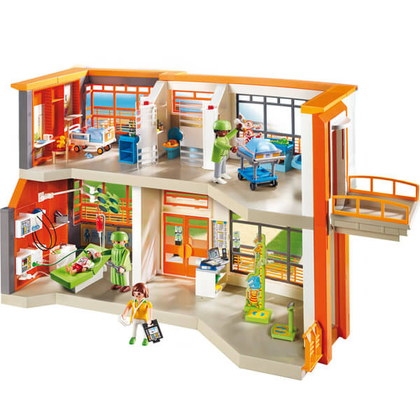 Playmobil l'hopital pediatrique