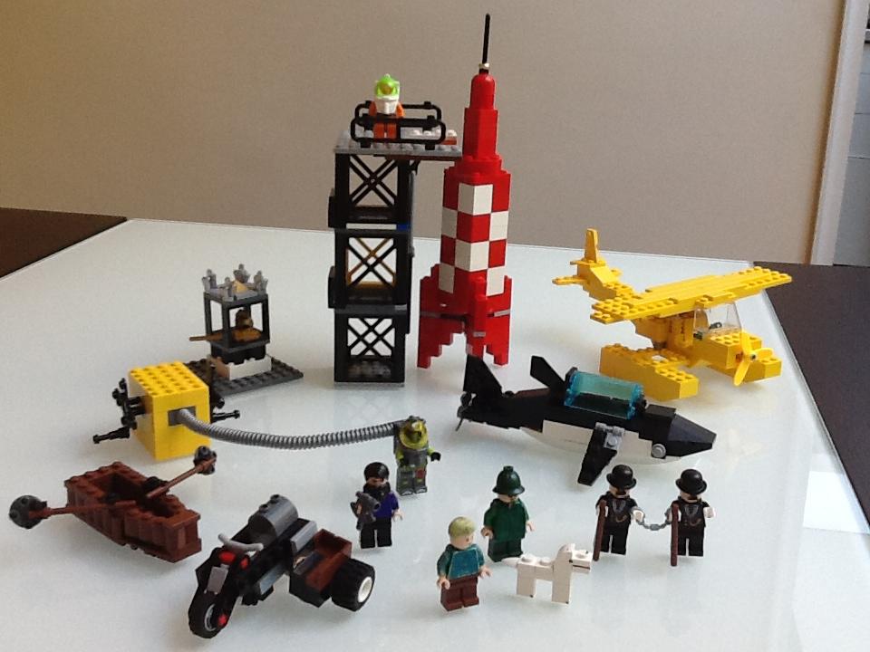 Lego ideas tintin