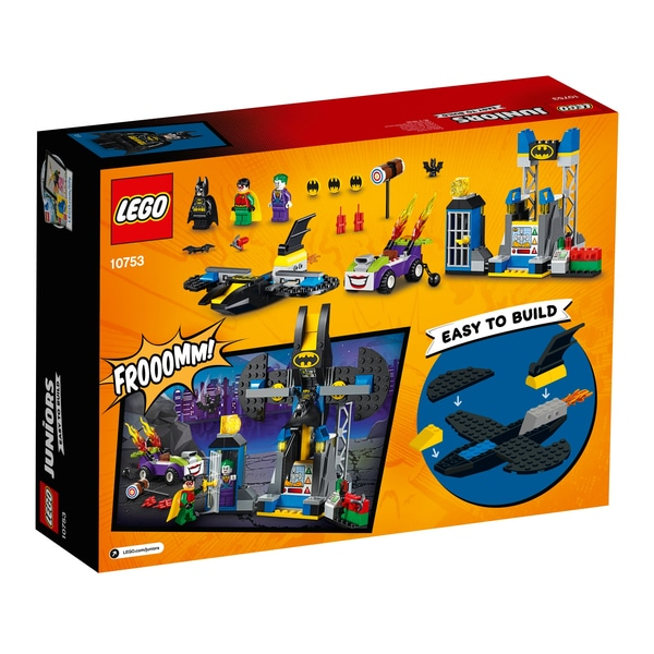 Lego juniors joker batcave attack