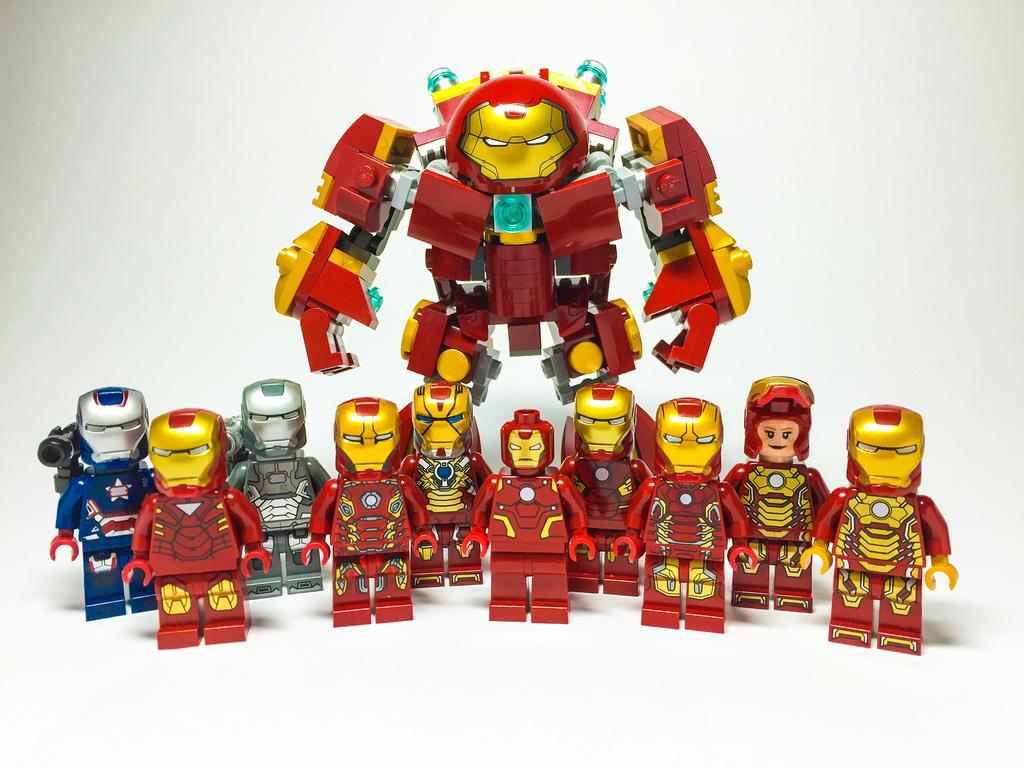 Lego iron man af