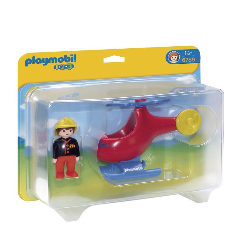 Camion pompier playmobil bebe