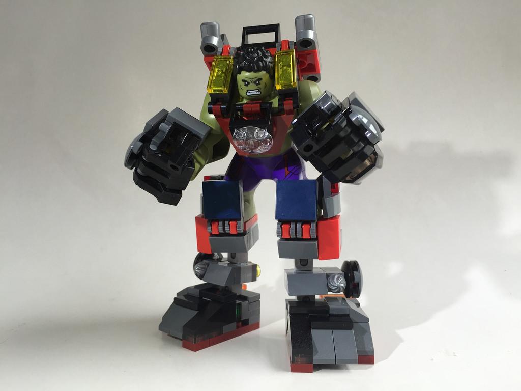 Lego hulk armor