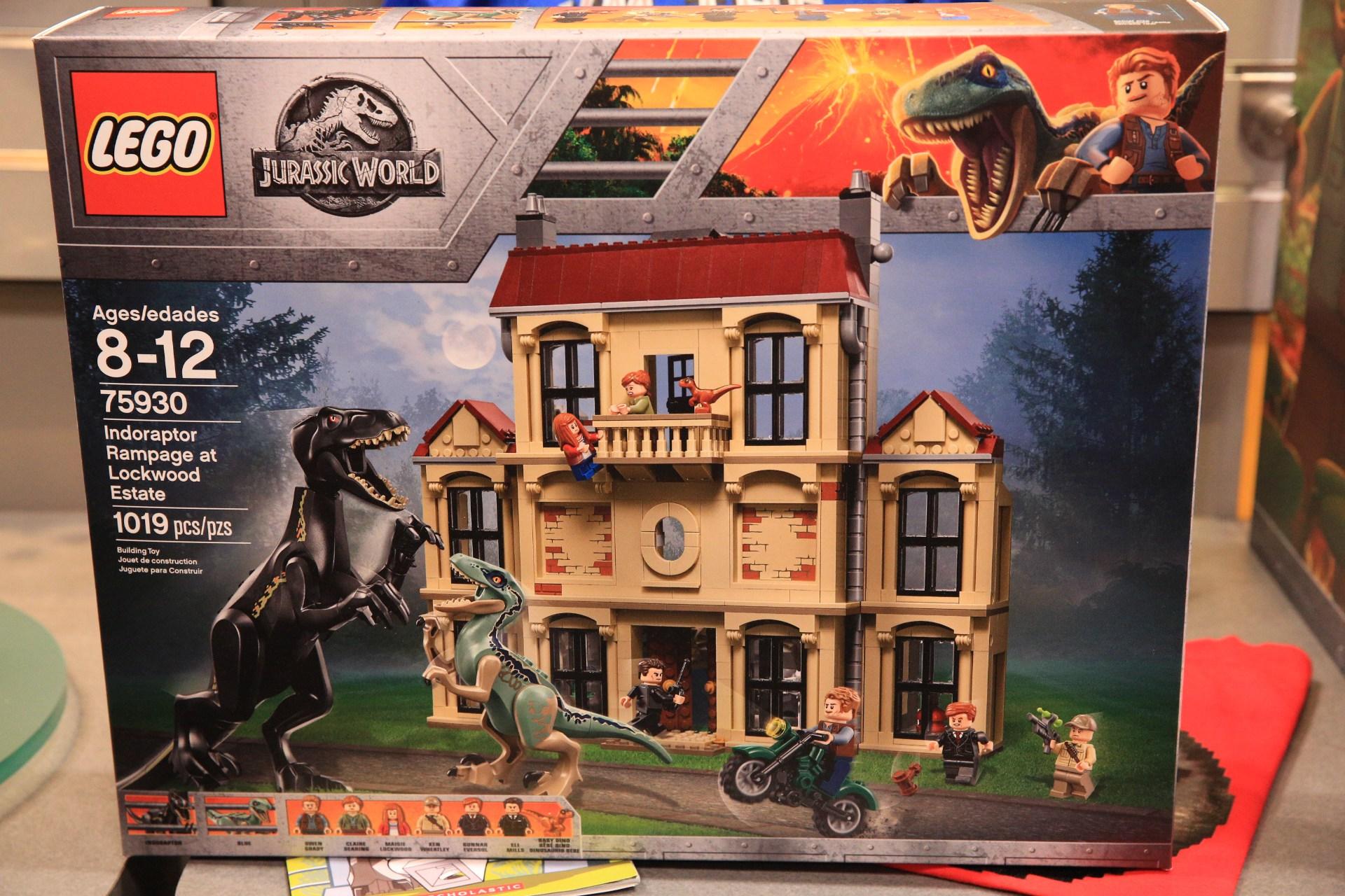 Lego jurassic world 2 set 75930