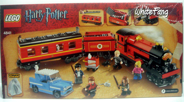Lego harry potter hogwarts express motorized