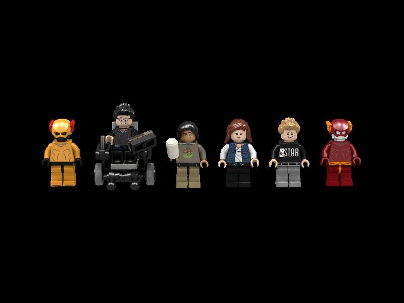 Lego flash vibe