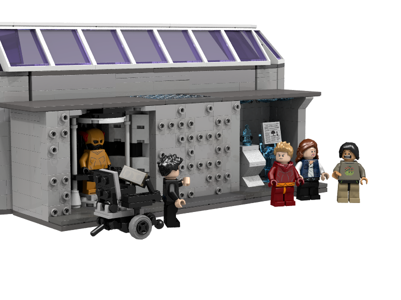 Lego ideas star labs