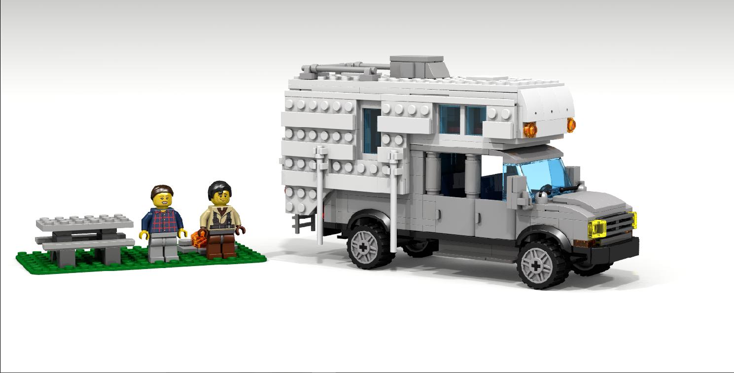 Lego truck image
