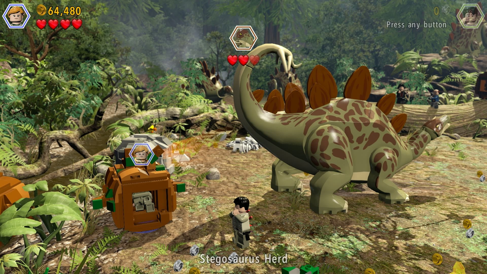 Lego jurassic world wii u 2 player