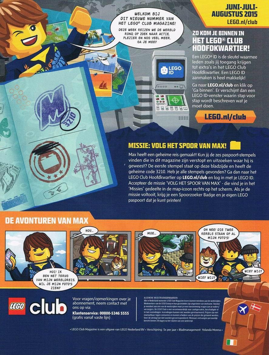 Lego id aanmaken