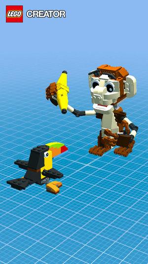 Creator island lego juego