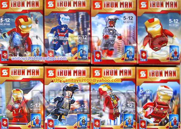 Harga lego iron man 3