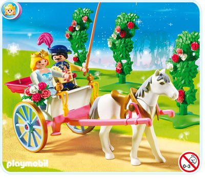 Playmobil princesse caleche