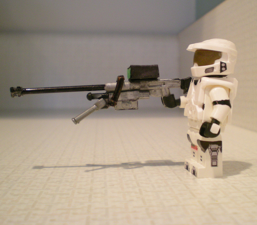 Lego halo sniper