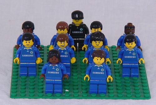 Lego football jersey