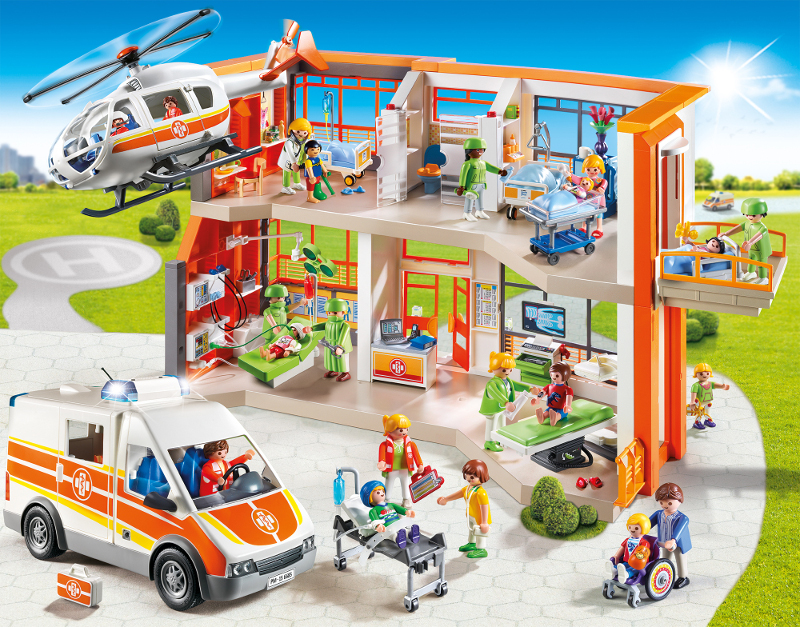Playmobil hopital dentiste