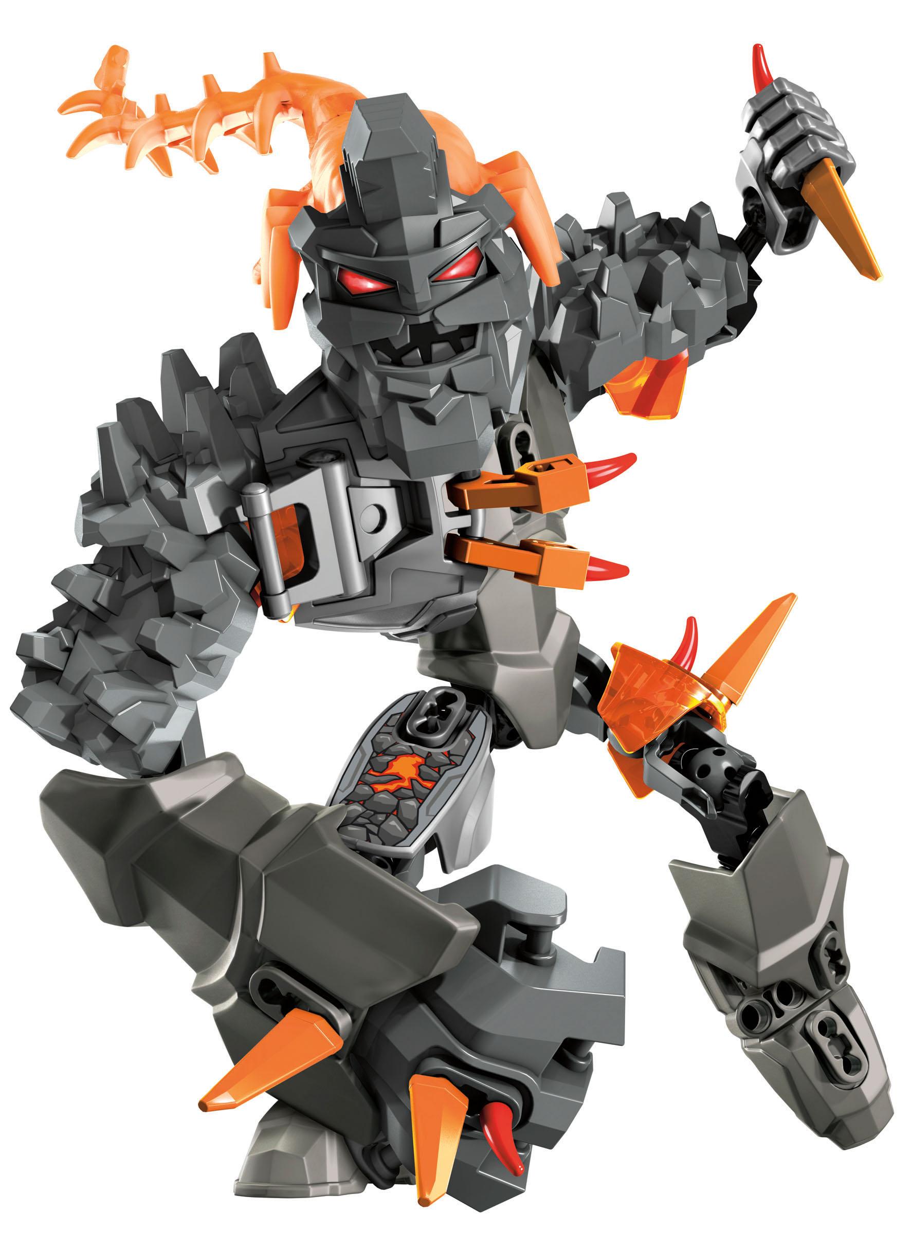 Lego hero factory atak mózgów