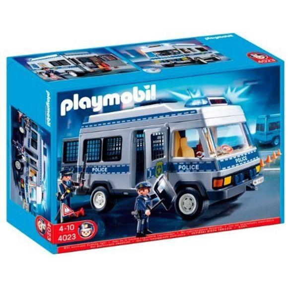 Playmobil fourgon police 9371