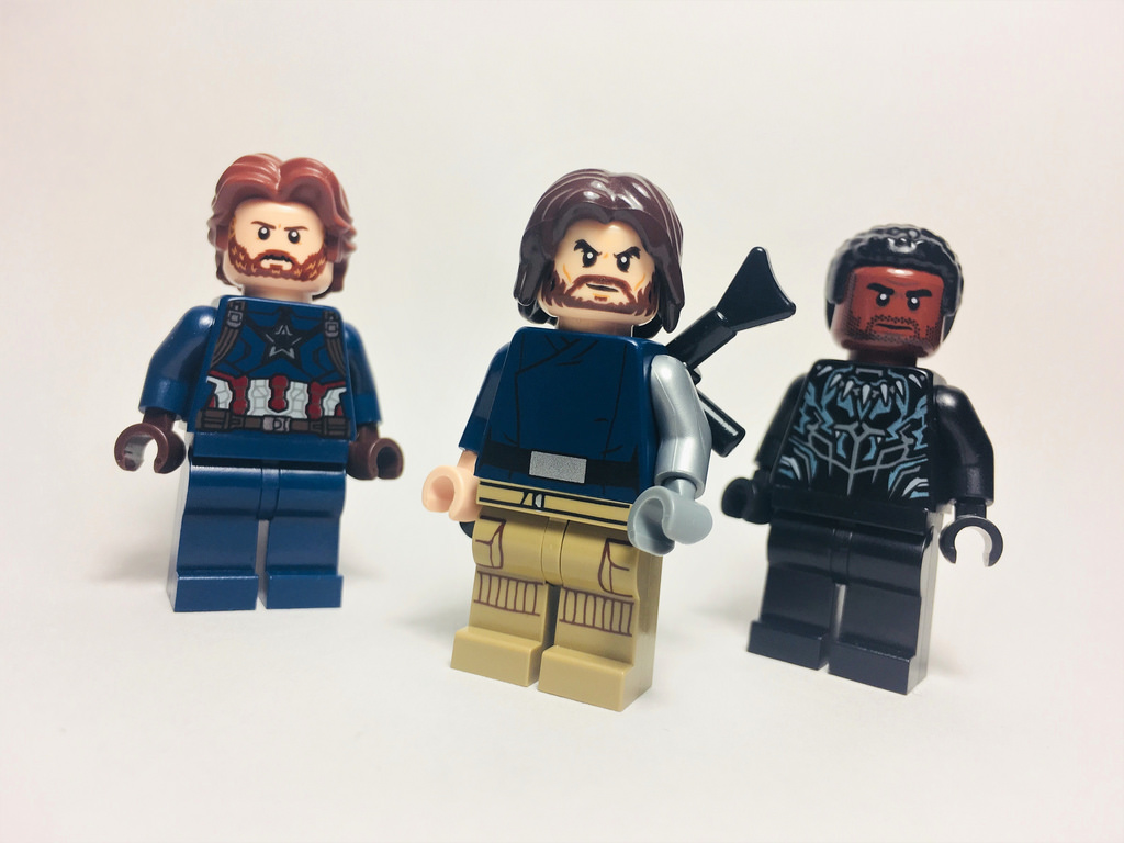 Lego infinity war flickr