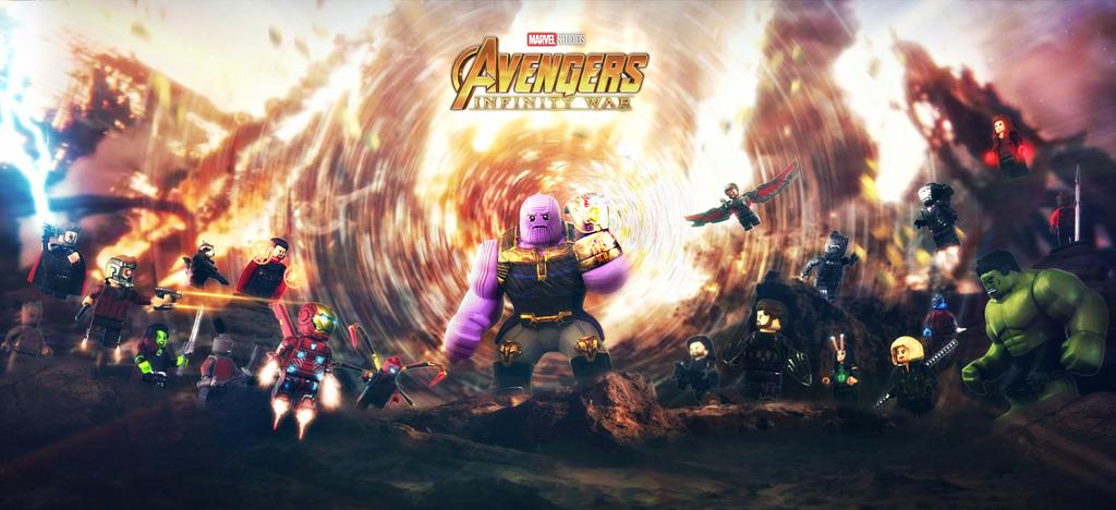 Lego infinity war final battle