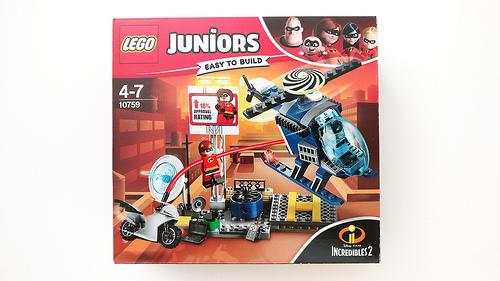 Lego junior the incredibles