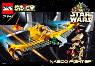 Lego naboo starfighter instructions