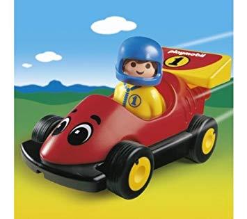 Playmobil 123 maman avec poussette