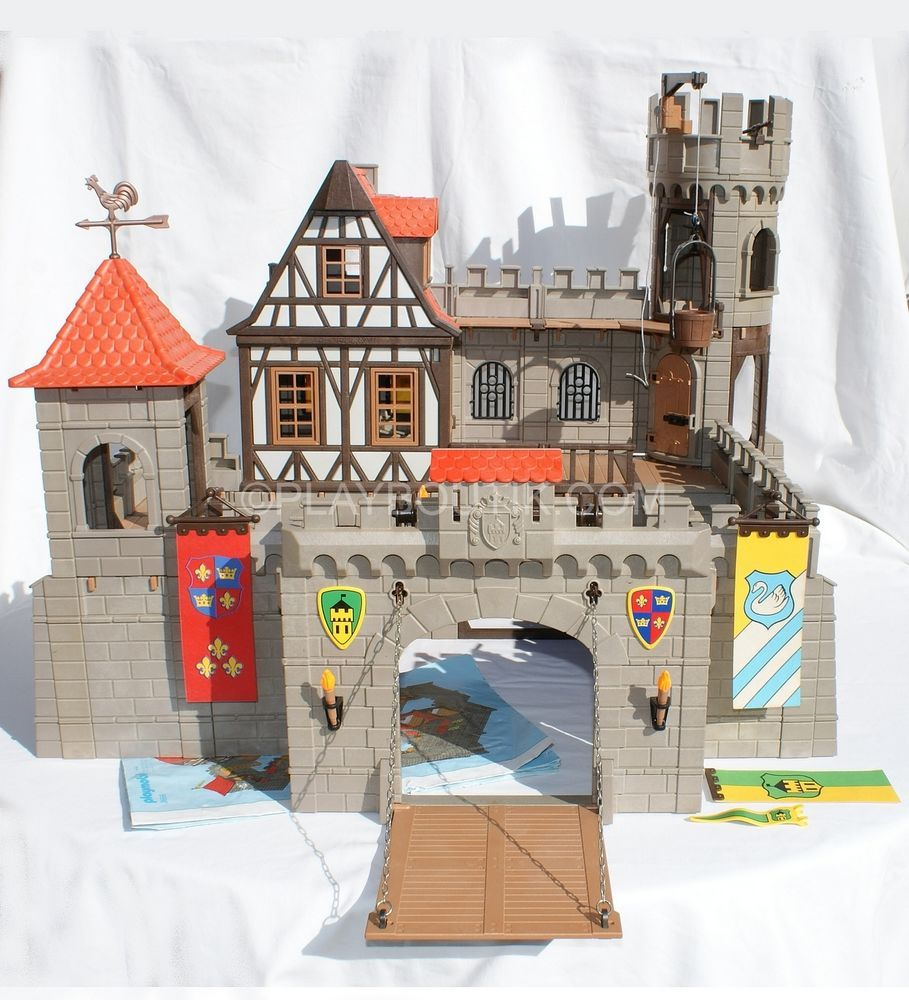 Chateau fort playmobil 4866 montage