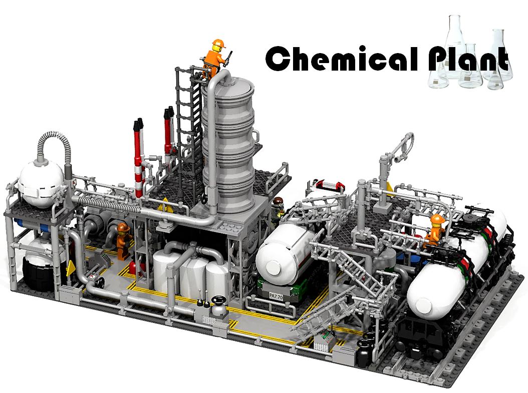 Lego ideas chemical plant - zagafrica.fr