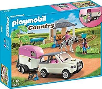 Playmobil et chevaux