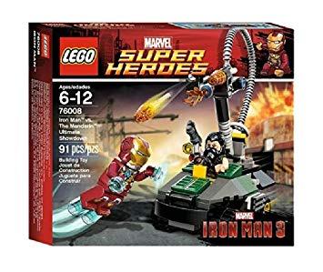Lego iron man jeux