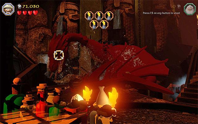 Lego hobbit smaug