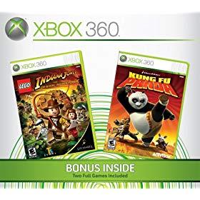 Lego indiana jones kung fu panda xbox 360