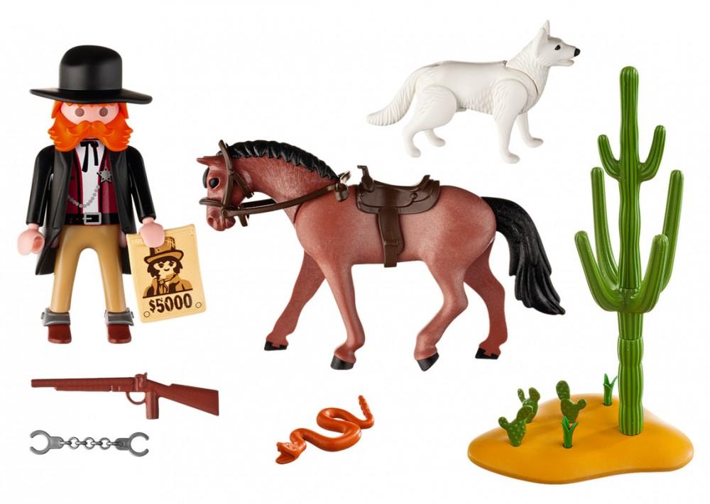 Playmobil chevaux western