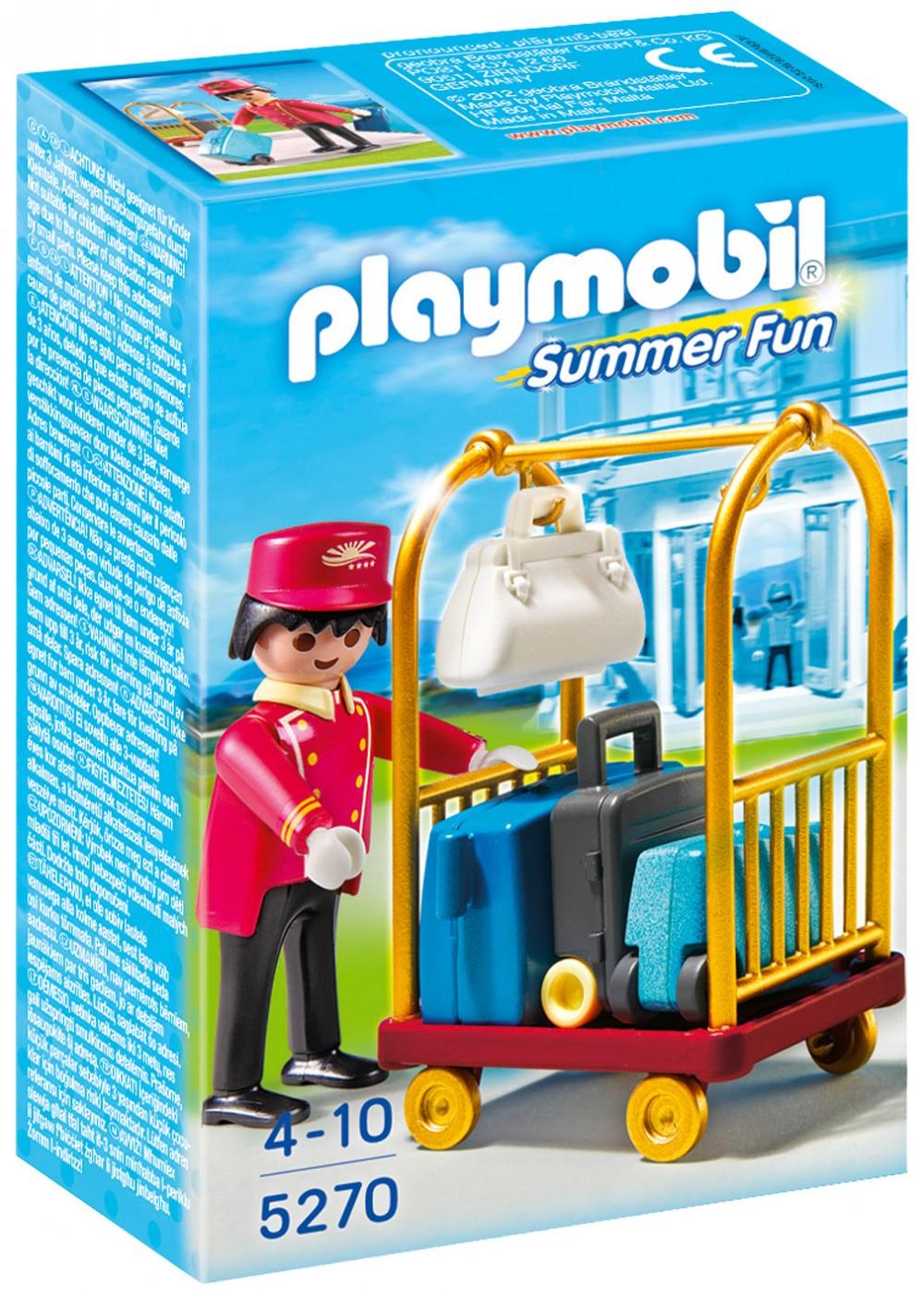 Playmobil summer fun pas cher