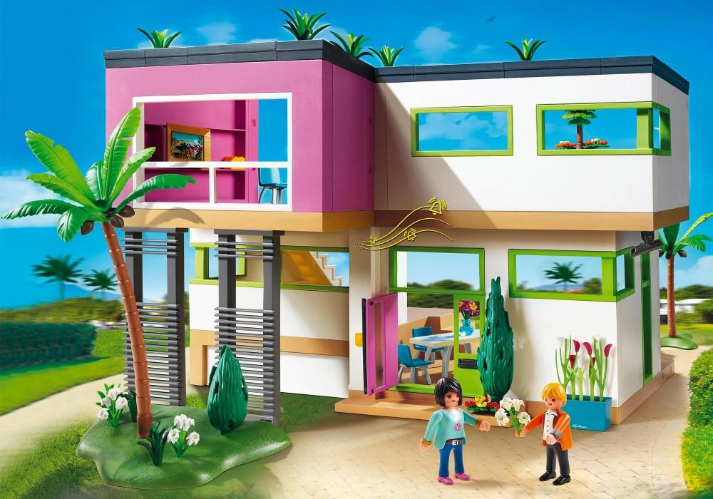 Playmobil la maison moderne 2018
