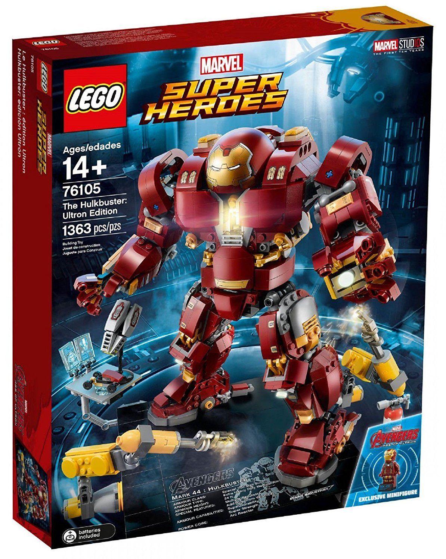 Lego marvel hulkbuster speed build
