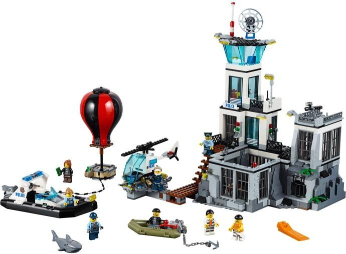 Lego instructions prison island