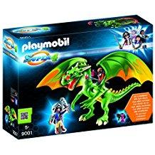 Playmobil dragon vert 7481