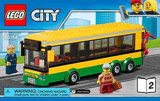 Lego instructions bus